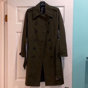 Brooks Brothers Long Trench Coat